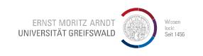 Logo der Universität Greifswald